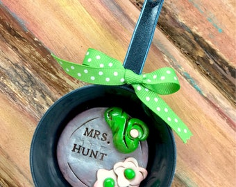 Personalized Green Eggs And Ham Dr. Seuss Book Inspired  / Reading / Librarian / Library / Teacher / Tutor Keepsake Polymer Clay Ornament