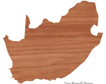 South Africa Personalized Gift Cutting Board Engraved  Shaped Cutting Board Christmas Gift Kitchen Foodie Cutting Board Customized