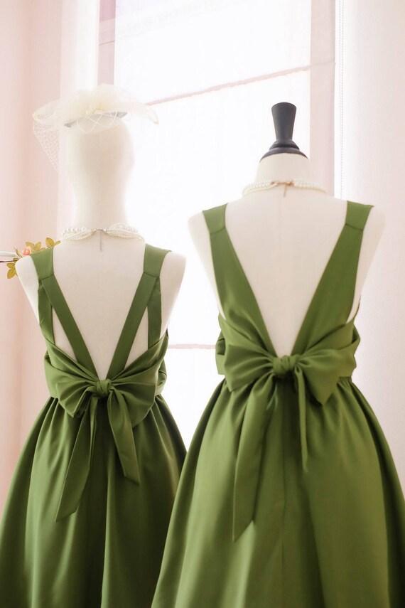 Grüne Ballkleid Kleid Moosgrün Kleid grünen Kleid grün grün
