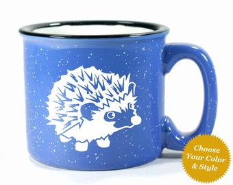 Hedgehog Mug - Choose Your Cup Color