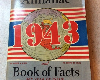 1943 world almanac and fact book