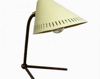 Mid century modern table lamp by Hans Bergstöm for Asea - vintage table lamp - swedish design table lamp - scandinavian design lighting