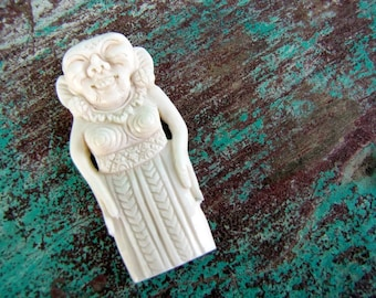 Balinese Barong Landung Jero Gede Carved Bone Cabochon 58mm