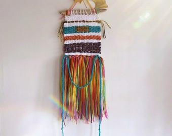 Hippi Chic Loom Weaving/ wall hanging