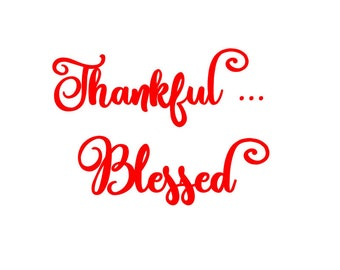Thankful..Blessed SVG Studio PDF