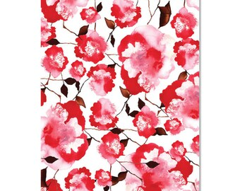 Rose Stem Wrapping Paper | Made in Australia