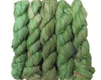New! 50g Premium  Sari Silk  Ribbon yarn , color Marguerita