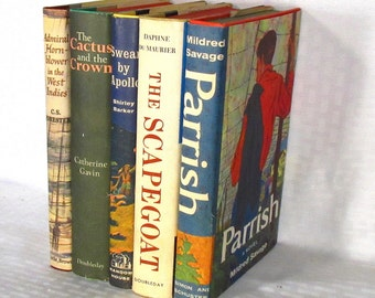 5 Novels with Dust Jackets From The 1950's -  As New in Fine Jackets