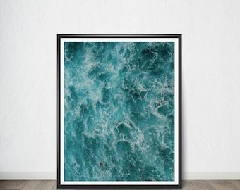 Ocean Digital Print  ,Art Print, Digital Art, Digital Art Print, Digital Artworks, Digital Print Art, Digital Art Download