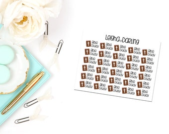 Bible Study Planner Stickers