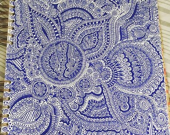 Blue China Pattern inspired Design