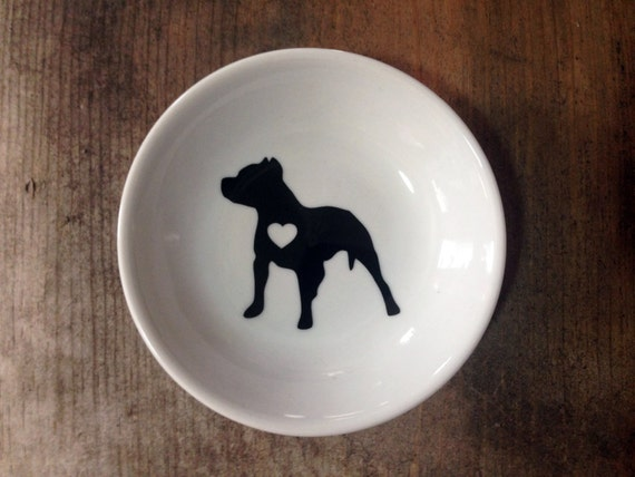 Pitbull | Ring Dish | Engagement Gift | Jewelry Dish | Pitbull Mom