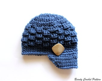Crochet Newsboy Hat Pattern, Newsboy Hat Pattern, Newsboy Hat Crochet Pattern, Newsboy Cap, Newsboy Hat Boys, Toddler Newsboy Hat Pattern