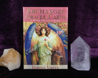 ARCHANGEL Oracle Reading: One Card Draw {Invocation, Message, Guidance}