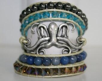 The Kraken 5 wrap bracelet