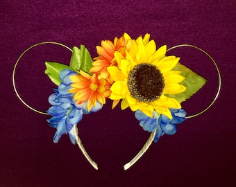 Spring Garden Festival Floral Wire Mouse Ears