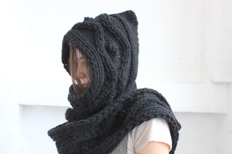Funky Scoodie Knitting Pattern Crest - Blanket Knitting Pattern ...