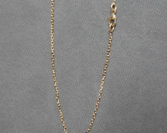 Filed chain 1.2 mm rose gold 750/1000