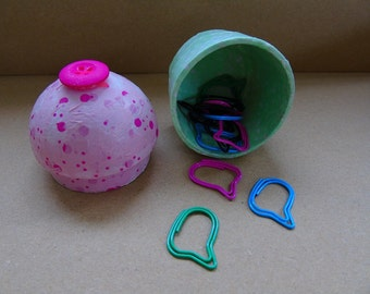 Mini cupcake trinket box ~ jewellery box, storage, decorative hiding place, desktop pot
