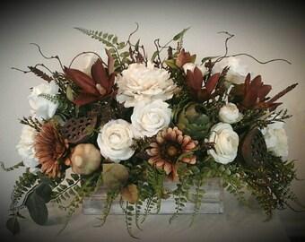 Floral Arrangement Etsy