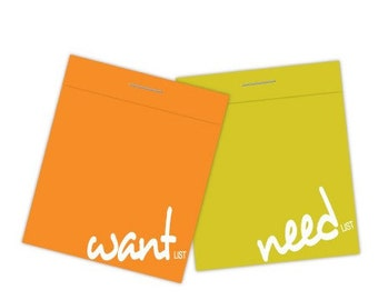D-LIST (set of 2 matchbook notepads)
