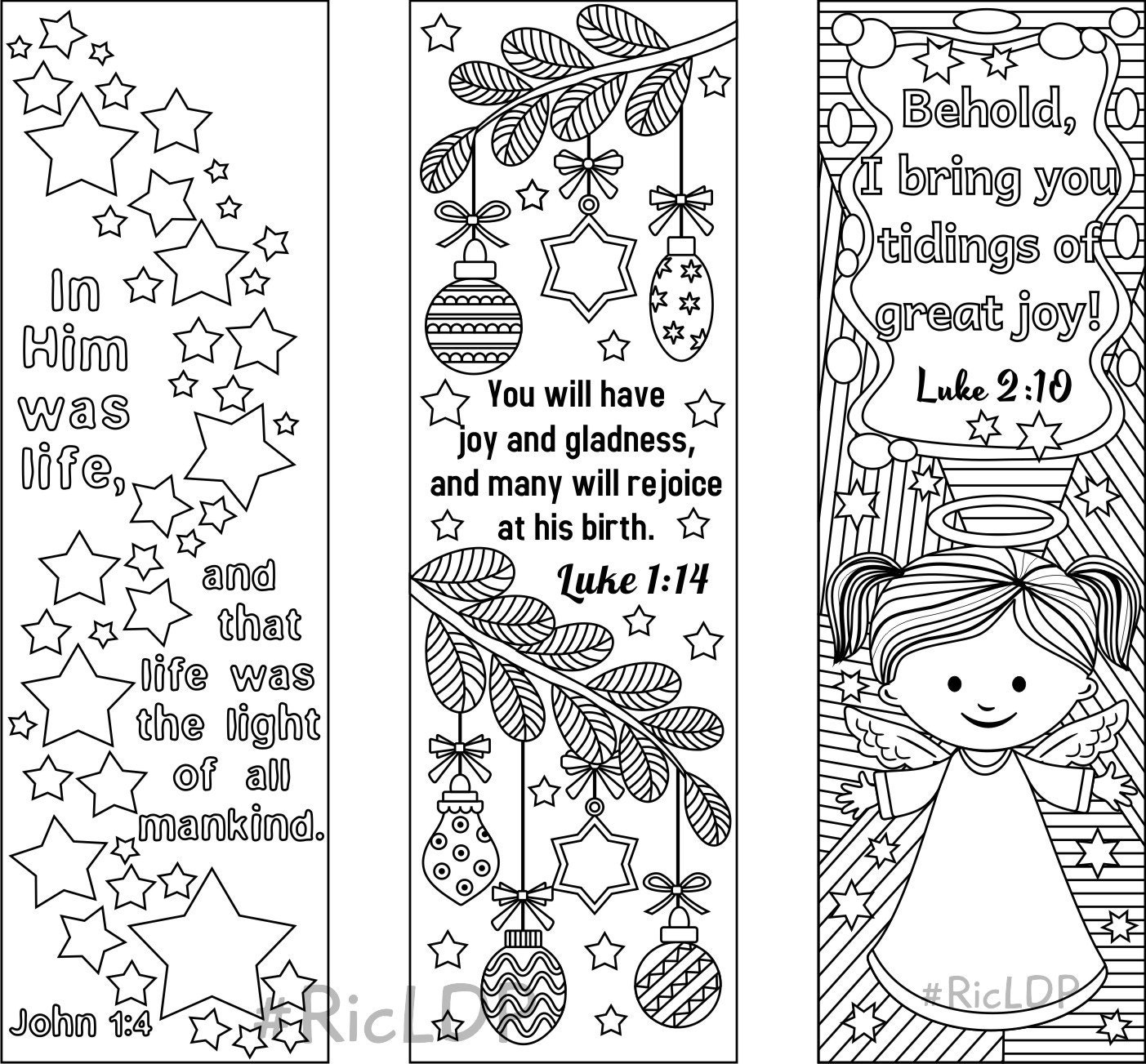 It is a graphic of Gratifying Free Printable Bible Verse Bookmarks to Color