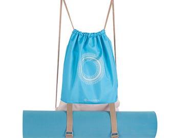 BiggYoga Chakra Drawstring Backpack
