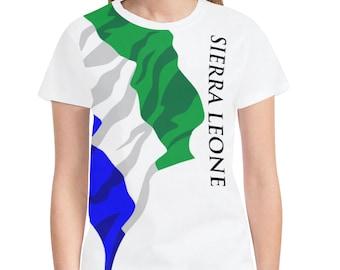 Sierra Leone Men's Classic Flag Tee 2.0 WXcjf9q