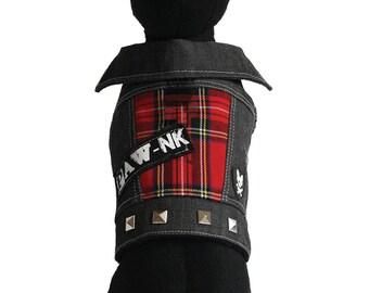 PAWnk Basic Iggy Denim Dog Jacket