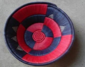 Unique and Vibrant Decorative Basket!