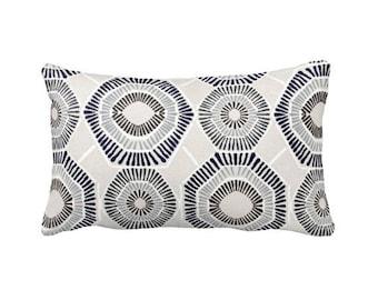Navy Blue Pillow Cover Navy Throw Pillow Cover Navy Lumbar Pillows Decorative Pillows for Sofa Pillows Geometric Pillows Navy Decor 12x22