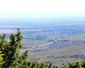 Alsace picture Download photo Panorama photo set Digital picture France photo Summer photo Housewarming gift for Coworker gift Best friend