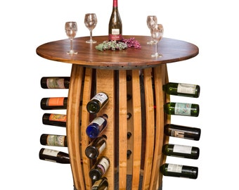 1038 Stave and Hoop Table Wine Rack