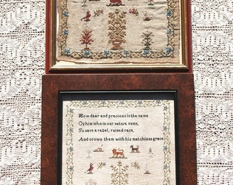 Matchless Grace (a Faithfully Reproduced Antique Sampler)