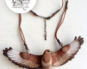 Buzzard Necklace (available)