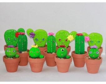 Medium Polymer Cactus