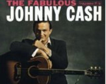 Johnny Cash NM- vinyl record  - The Fabulous Johnny Cash - Original - Vintage cover in VG++ Condition