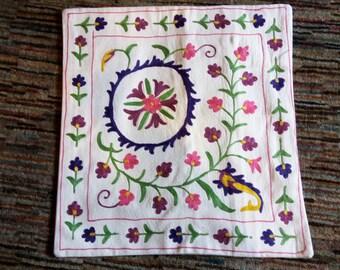 Handmade Embroidered Pillowcase