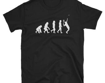 Badminton evolution - badminton tee - funny badminton gift - badminton player tee - badminton apparel - badminton lovers - i love bad