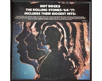 Glittered Rolling Stones Hot Rocks Album