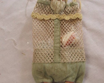 Santa Candy Container   mesh net