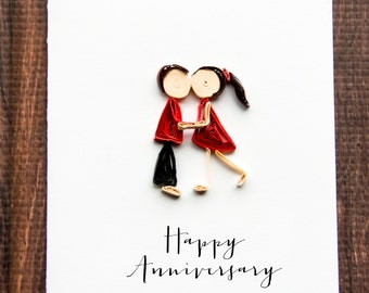 funny anniversary card -wedding anniversary greeting -marriage anniversary wishes -anniversary cards for him her husband wife boyfriend