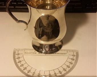 United Sates Congress Silver Plated Mug