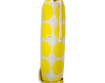 Yellow Dot Wobble Yoga bag