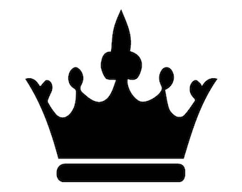 prince crown svg etsy rh etsy com prince crown clipart black and white prince crown clipart