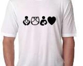 Crunchy Mom Shirt, Cloth Diaper Mom, Babywearing Mom, Breastfeeding Mom Shirt, Natural Mama Shirt, crunchy mama shirt, cute mom shirt
