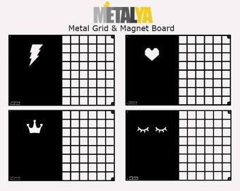 Memo Board / Wire Wall Grid / Mood Boards / Wall decor / Office Organization / Workspace / Notice Board