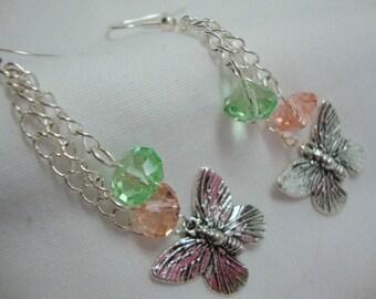 Butterfly Magic Earrings Dangle