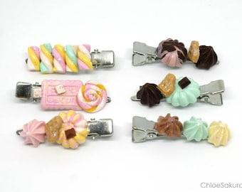 Delicious and kawaii hair clip