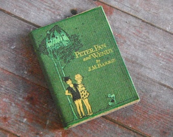 Miniature Book --- Peter Pan and Wendy
